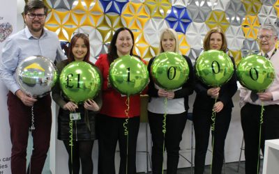 Record-breaking donation to our charity of the year, City Hospice