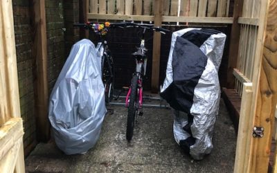 New bike shed makes a wheelie big difference!