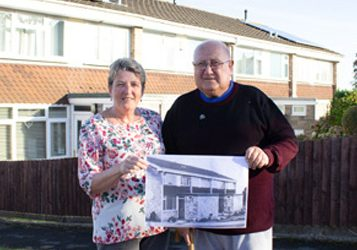 Neighbours for 42 years in Barry celebrate friendship!