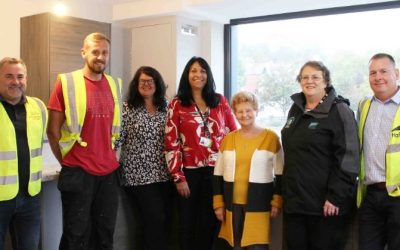 £4.2m refurbishment transforms disused Barry offices into affordable homes