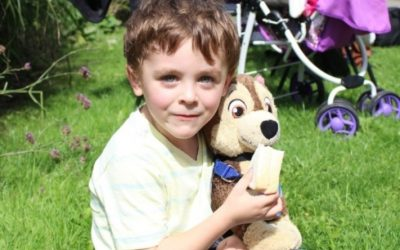 Teddy bears outing at Gladstone Gardens