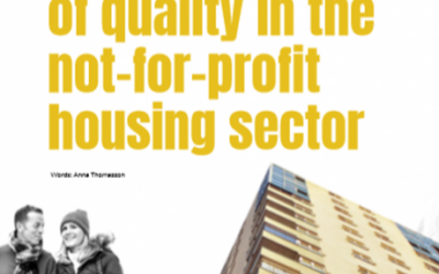 The importance of quality in the not-for-profit housing sector