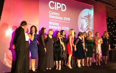 HR team shine at major Welsh awards with double win