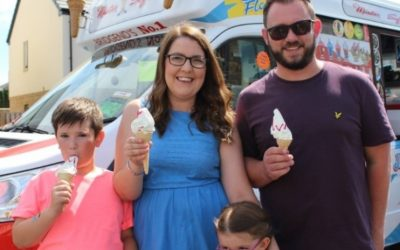 Tenants celebrate with a street party to launch new development