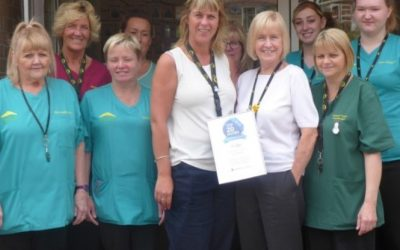 Tŷ Gwyn care home rated one of the top in Wales